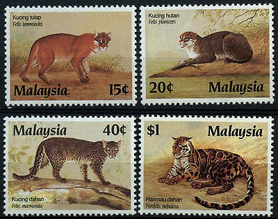 Malaysia 1987 SG#383-6 Protected Animals MH Set #D42910