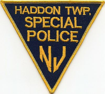old vintage HADDON TOWNSHIP NEW JERSEY NJ SPECIAL POLICE PATCH
