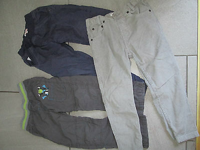 3 pairs of boys bluezoo trousers age 4-5