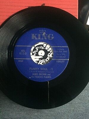 James Brown & The Famous Flames - Funky Soul #1 Orig Funk45 Vg+
