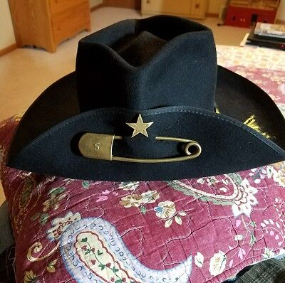 5th Texas Infantry Borsalino Civil War hat western south 7 1/2