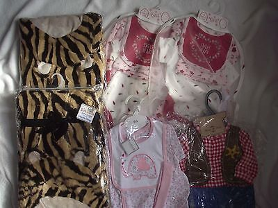 Wholesale joblot baby layette sets & gift blankets x 6 items BNWT & hangers
