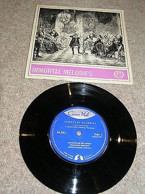 "7"" single 'Immortal Melodies' by the Orchestra of the Vienna Promenade Concerts"