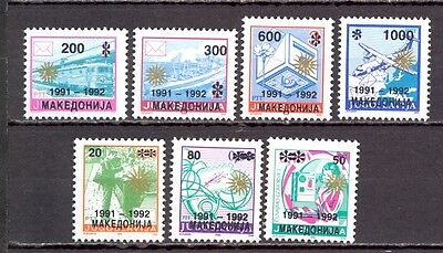 Macedonia 1991-1992 Private Edition. Interesting, Quality As Is On Scan.