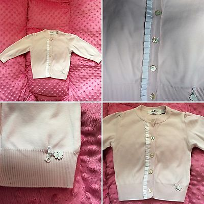 Baby Pink Christian Dior Cardigan 18 months Worn once - Excellent condition!