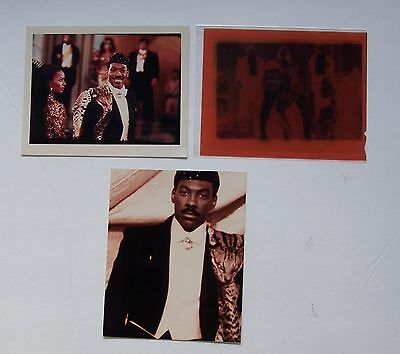 "EDDIE MURPHY 1988 ""Coming to America"" Photo & Negative w- Color Special Effecta"