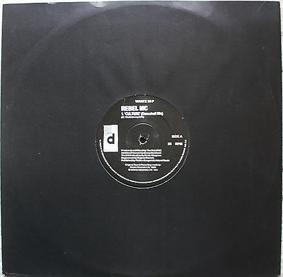 "Rebel MC - Culture / Comin' on strong UK OG 12"" (#02534)"