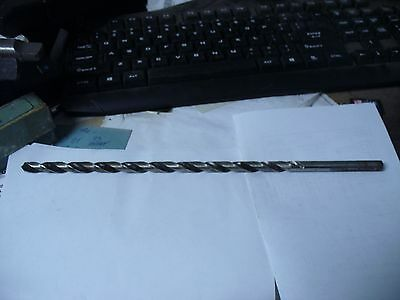 """23/64 x 12"""" OAL HS Extra Long Drill Bit Straight Shank Shop Waz to Save"""
