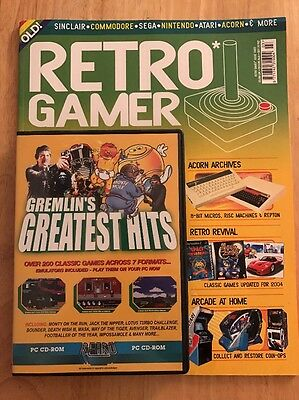 Retro Gamer Magazine Issue 3, Mint Complete With Cover Disc. First Print