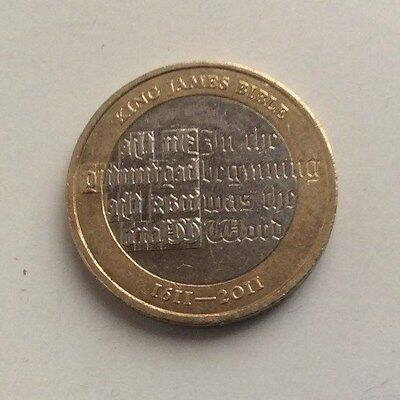 £2 Coin - King James Bible - 2011