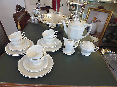 Rosenthal Maria Weiss 6 Pers. Kaffeeservice 22 Teile