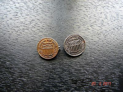 Two Antique Red Cross Blood Donor Pins