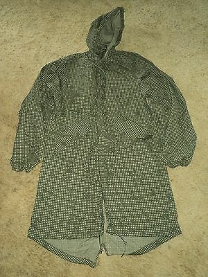 Vintage Authentic Us Military Issue Night Camo Desert Parka Xsmall New Old Stock