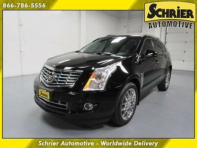 2013 Cadillac SRX Performance Sport Utility 4-Door 13 Cadillac SRX Black AWD Panoramic Roof Lane Departure Collision Monitor