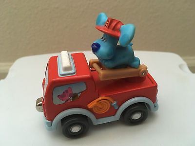 Blues Clues Take Along Diecast Fire Truck - Learning Curve