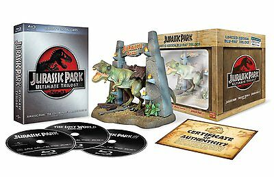 Jurassic Park: Ultimate Trilogy - Limited Edition [Blu-ray + Digital Action] NEW