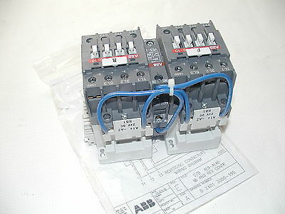 NEW ABB AL26M-30-10-81  AC Mechanically Interlocked  IEC Contactors 3-4 Poles