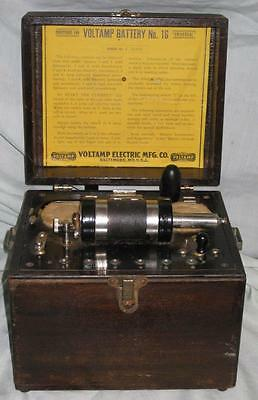 Voltamp Battery #16 and Case, Quack Medical Device, Baltimore, Miracle Cure