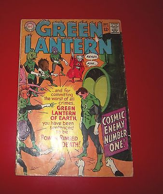 Green Lantern #55  - Cosmic Enemy Number One Gil Kane Cover 1967 Silver Age