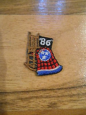 Maybe Old or Vintage Small Mini History '86 Rocking Chair Flag Patch / Applique