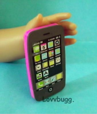 Pink Smart Phone Mini for 18 inch Doll Accessory American Girl   Widest Variety