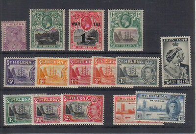 St Helena Early mint collection