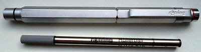 Rotring 600 Silver Rollerball Pen  New In Box