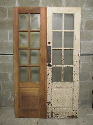 ~ Antique Double Entrance French Doors ~ 48 X 80 Salvage
