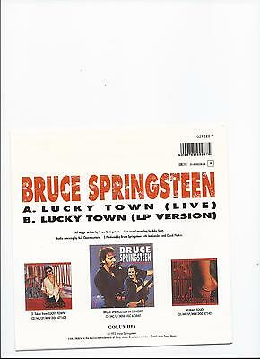 BRUCE SPRINGSTEEN LUCKY TOWN live version ORIGINAL SINGLE FROM HOLLAND