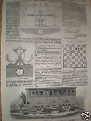 Nickels new system of Railway Locomotion 1845 prints
