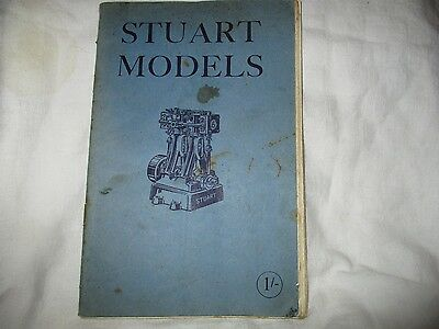 Stuart Models A Catalogue Of Small Engines And Components 1956