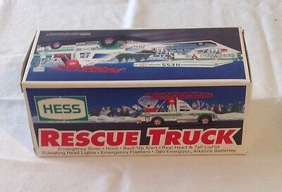 Empty Box For Hess 1994 Rescue Truck