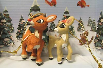 Rudolph The Red Nosed Reindeer and Clarice His Girlfriend