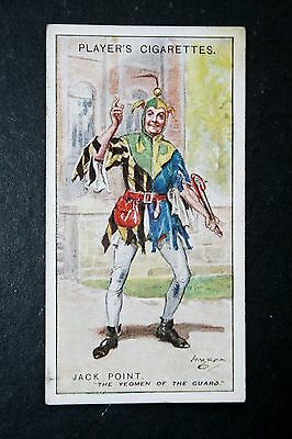 The Yeomen of the Guard  Gilbert & Sullivan  Jack Point   1920's Vintage Card