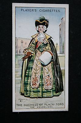 The Gondoliers   Gilbert and Sullivan  Duchess of Plaza Toro  Vintage Card # VGC