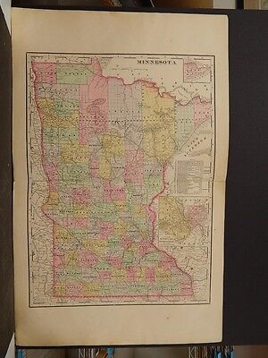 Minnesota State Map 1902 J5#85