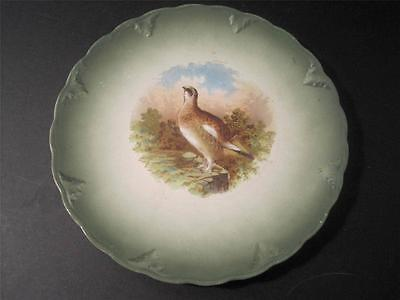 Vintage GAME PLATE BIRD MAASTRICHT PLATE PETRUS REGOUT & Co. HOLLAND