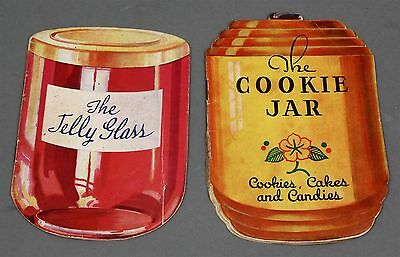 2 Mid-Century DIXIE CRYSTALS Advertising BOOKLETS THE JELLY GLASS & COOKIE JAR