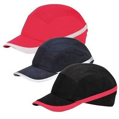 Portwest Vent Cool Protective Bump Cap Baseball Style Hard Hat Safety Workwear