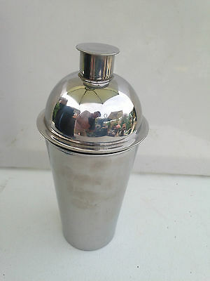 Knut Marianne Hagberg Swedish Stainless Steel Cocktail Shaker Signed
