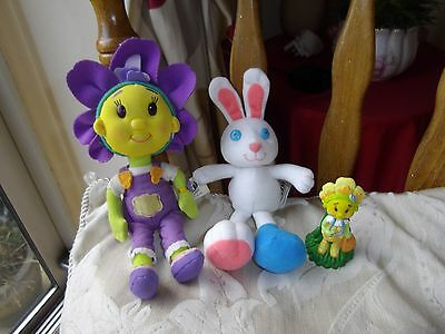 FiFi and The Flowertots Soft Toy and Figure Bundle