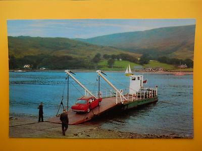 Old Cars RHUBODACH FERRY Colintraive & Isle of Bute c1970s Standard Size