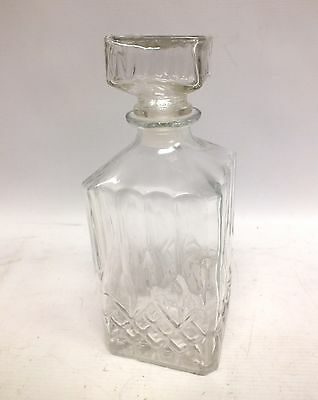 Whisky/Sherry/Wine GLASS DECANTER 23cm - Y99