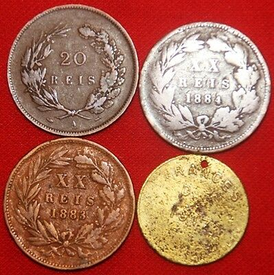 PORTUGAL - 4 x Coin Mix