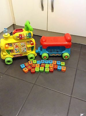 VTech Push and Ride Alphabet Train - Complete
