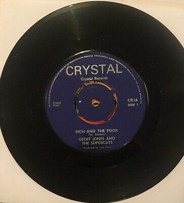 GEOFF JONES SUPERCATS The Rich & Poor MARK WAYNE With These Hands 1969 CRYSTAL 1