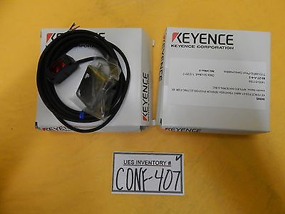 Keyence PZ2-41 Mini Photoelectric Sensor AMAT 1400-01166 Reseller Lot of 2 New