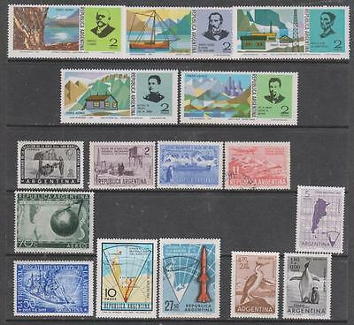 ARGENTINA - 16 x Mainly Mint Stamps, inc. 3 x Sets, 1953-1976 Period