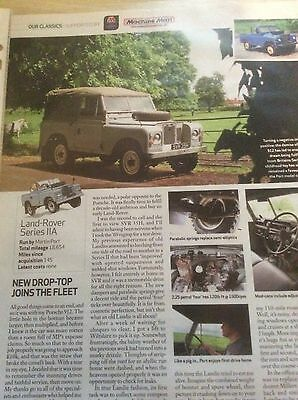 Land Rover Series 11A  Running Report  Article 2010  ~Lr02