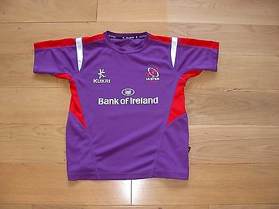 Kukri Ulster Rugby Training Top/Warmup shirt/jersey/child large boys